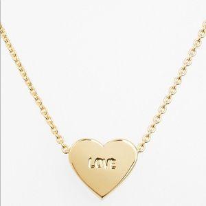 Kate Spade Dear Valentine Love Heart Necklace